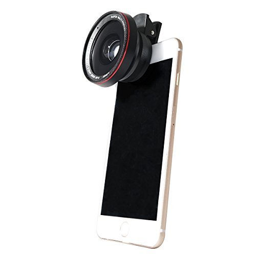 KetDirect Phone Lens, 2 in 1 Cell Phone Camera Lens Kit, 100