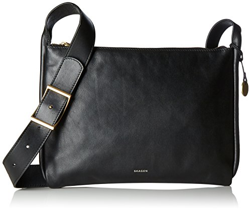 Bag Skagen Body Black Women's Cross Anesa nBBIr6