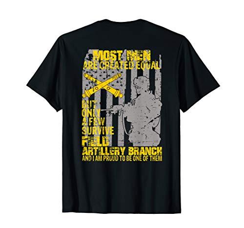 Veteran Gift I Survived Field Artillery Branch T-Shirt ()