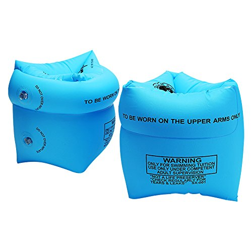 Augymer 튜브 암링 2 개 세트 팔 튜브 성인 더위 대책 아동 스윙 보조기구 수영 용품 바다와 수영장에서 즐거움 두배 큰 우기원 세련된 타고 바다 수영장 야외 해외 유명 SNS 인스턴스에서 활약 수영 도구 수영장 데뷔 용 浮具