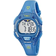 Timex Women's T5K7579J Ironman Traditional 30-Lap Teal Resin Strap Watch