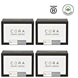 Cora Organic Cotton Tampons with Compact Applicator; Variety Pack - Light/Regular (144 Count)