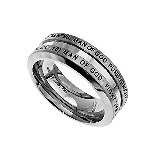 Christian Stainless Steel Abstinence Timothy product image