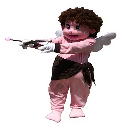 Langteng(TM) Valentine Angel Cupid Mascot Costume Cartoon Character Real (Male Cupid Costumes)
