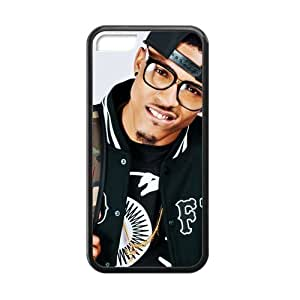 CTSLR Laser Technology August Alsina TPU Case Cover Skin for Cheap phone iphone 4/4s iphone 4/4s-1 Pack- Black - 2