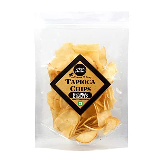 Urban Platter Home-Made Tapioca Root Chips (400g)