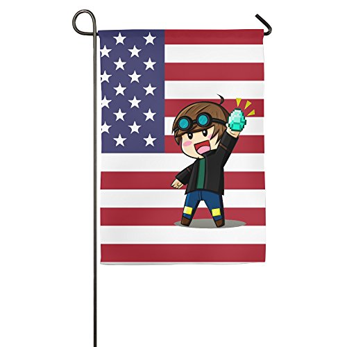 DanTDM Country Flag Designer House Flags (Colleges For Costume Designers)