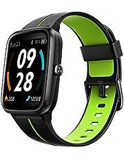 TicKasa Vibrant Fitness smartwatch dla mężczyzn i kobiet, wodoszczelność do 5 ATM, monitorowanie tętna, czas pracy baterii 10 dni, wbudowany GPS, kompatybilny z telefonami z systemem Android/iOS