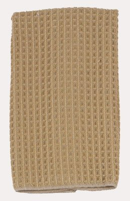 Kay Dee Linens (Kay Dee Designs Microfiber Waffle Polyester/Polyamide Towel, 16-Inch by 24-Inch, Taupe)