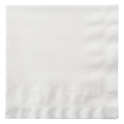 Hoffmaster 120052 Linen-Like Greek Key Dinner Napkin, Embossed, 1/4 Fold, 17