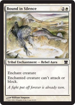 Magic: the Gathering - Bound in Silence (8) - Modern Masters - Foil
