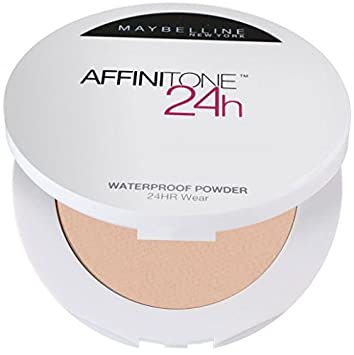 Maybelline Affinitone 24hr Waterproof Face Powder Cameo 20: Amazon ...