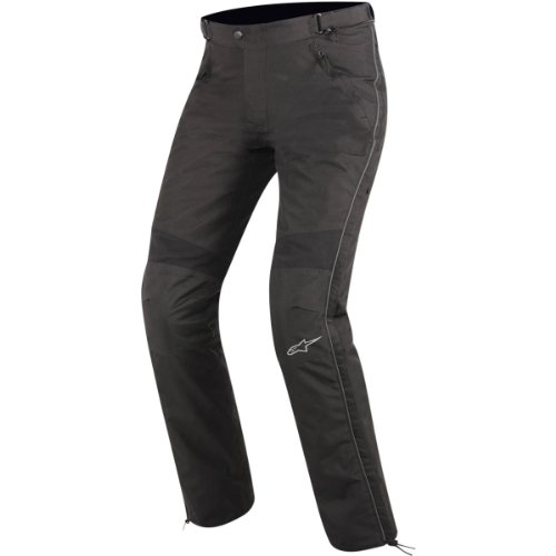 Alpinestars Express Drystar Textile Overpants , Distinct Name: Black, Primary Color: Black, Size: Lg, Gender: Mens/Unisex, Apparel Material: Textile 3222012-10-L