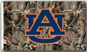 (Auburn Tigers 3'x5' Realtree Camo Flag)