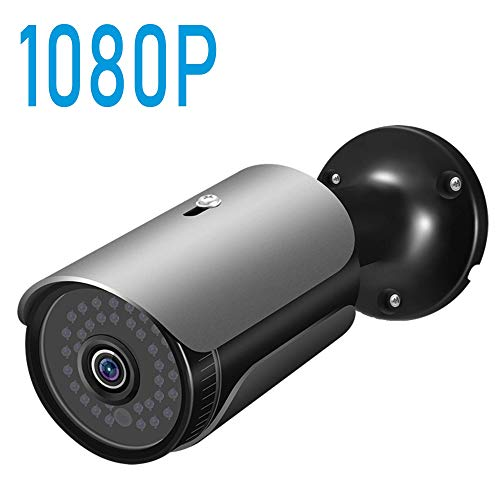 POE IP Camera, FULUVA 1080P Outdoor Home Surveillance Camera, 130ft NightVision, IP67 Weatherproof, Heavy Duty Housing, 3.6mm Lens, Onvif, H265