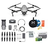 DJI Mavic 2 Pro Drone Collapsible Quadcopter Bundle, Choose Options Accessories Review