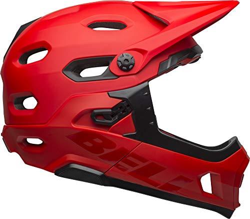 Bell Super DH MIPS Adult MTB Bike Helmet (Matte/Gloss Crimson/Black (2019), Medium)