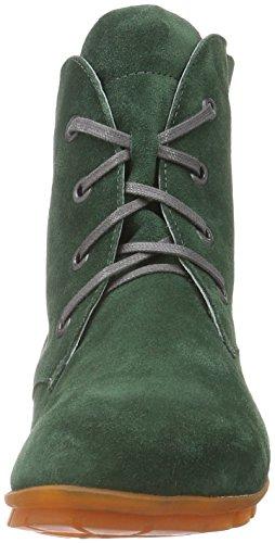 Think Menscha, Botines para Mujer Verde - Grün (PINO/KOMBI 61)