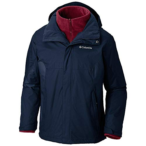 Columbia Men's Eager Air Interchange Jacket, Dark Mountain M