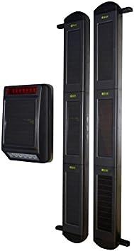 Sirena y haces de 3B, totalmente funciona con energía solar inalámbrico sistema de alarma perimetral.: Amazon.es: Bricolaje y herramientas