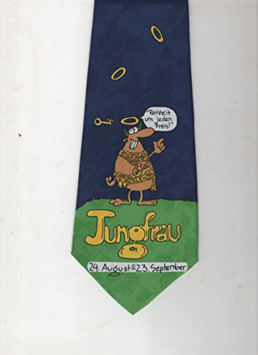 BAR-ON Italy Design Hand Made Tie - Jungfrau Reinheit um jeden Preis 24. August-23.September