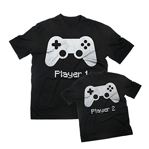 T-Shirt DAD&SON PLAYER 1-2 by MUSH Dress Your Style