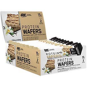 Protein Wafers Vanilla Crme (9 Packs)