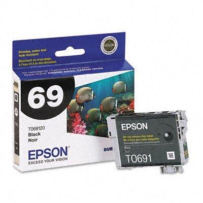 NEW Epson OEM Ink T069120 (BLACK) (1 Cartridge) (Inkjet Supplies)