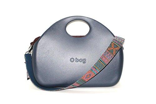 Borsa o bag o moon blu con sacca e tracolla new collection AI 20178 (k)