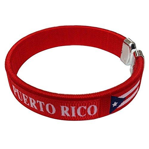 Puerto Rico Flag C Bracelets Wristbands