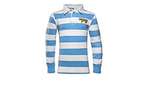World Beach Rugby Argentina – Camiseta de Rugby Vintage – Azul ...