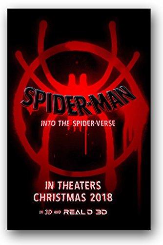 amazon com spider man into the spider verse poster 2018 movie