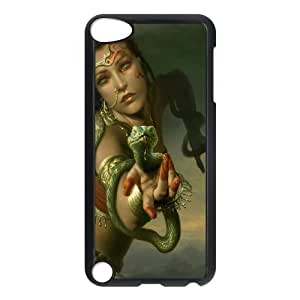 Ipod Touch 5 Snake Phone Back Case Art Print Design Hard Shell Protection TY051964