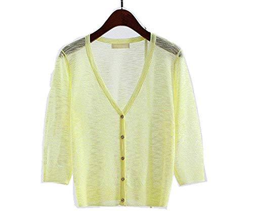 レディース トッパーカーディガン 春夏 半袖 薄手 無地純色 ゆったり UVカット 日焼け止め UV対策 シンプル デザイン コーディネート