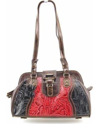 Madi Claire Maggie Women Red Shoulder Bag