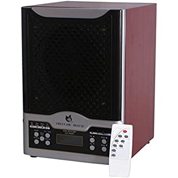 Green Air Purifiers Green Air Deluxe 3 Plate HEPA and Carbon Filter Alpine Air Purifier Ozone Generator