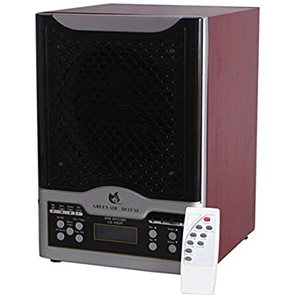 Image of Home and Kitchen Green Air Deluxe 3 Plate HEPA and Odor Fighting Filter Alpine Air Purifier Ozone Generator