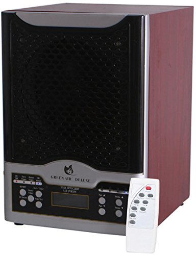 - Green Air Deluxe 3 Plate HEPA and Odor Fighting Filter Alpine Air Purifier Ozone Generator