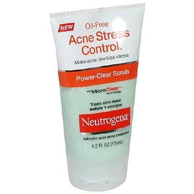 Neutrogena Acne Stress Control, Power-Clear Scrub, 4.2 Ounce (Pack of 3) by Johnson & Johnson SLC
