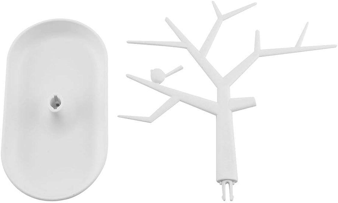 Multifonctionnel branche darbre en forme de bijoux affichage boucle doreille Bracelet collier anneau pr/ésentoir porte-organisateur pour boucles doreilles