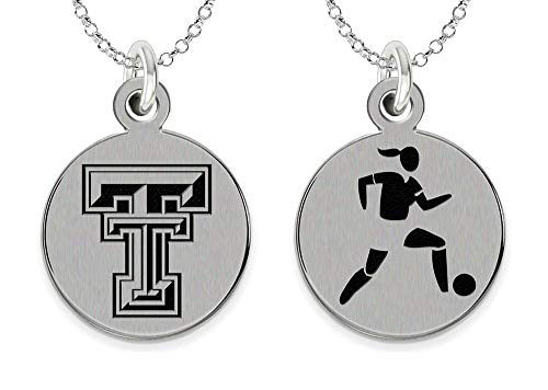 College Jewelry Texas Tech University Red Raiders Women's Soccer Charm by College Jewelry