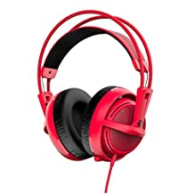 SteelSeries Siberia 200 Gaming Headset-Forged Red