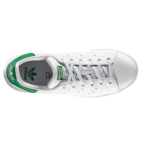 0d2ab0b4fe adidas Stan Smith blan Chaussures femme. Baskets mode. Sneaker chic ...
