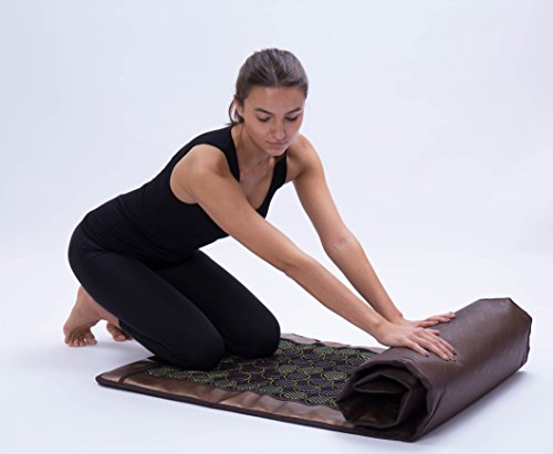 HealthyLine Far Infrared Heating Mat 72''X24'' Relieve Muscles Pain & Insomnia| Natural Jade & Tourmaline Stone | Negative Ions (Large & Flex) | US FDA by HealthyLine (Image #1)'