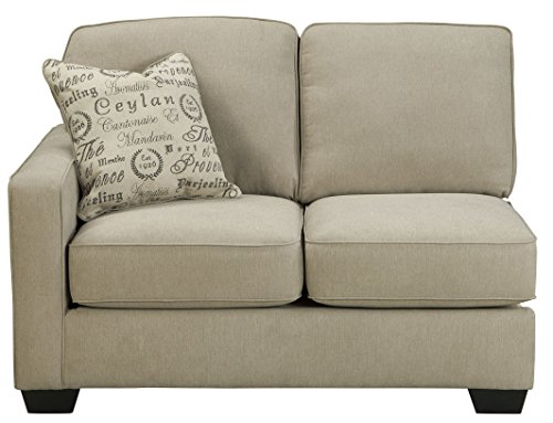 Signature Design by Ashley Alenya Left Arm Facing Loveseat, Quartz