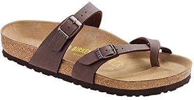 Birkenstock Women´s Mayari Mocca Birkibuc Sandals 36 EU (L5 US) N 071063
