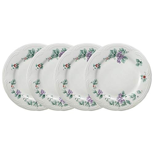 (Pfaltzgraff Grapevine Set of 4 Dinner Plates)
