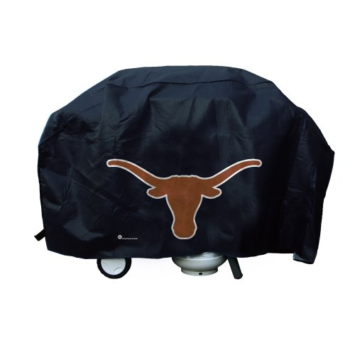 Rico Industries NCAA Texas Longhorns Vinyl Padded Deluxe Grill (Texas Longhorns Grill Cover)