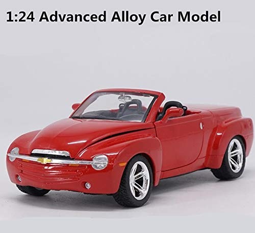 - Greensun 1:24 Advanced Alloy car Models,high Simulation Chevrolet SSR Model,Metal diecasts,Collection Toy Vehicles,