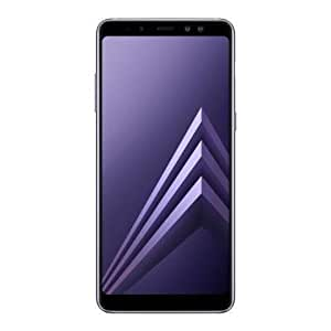 "Samsung Galaxy A8+ (2018) Factory Unlocked SM-A730F Dual SIM 64GB 6GB Ram, 6"" Screen, 16MP Rear Camera + Dual Frontal Camera 16MP+8MP, IP68, 4G LTE GSM International Version No Warranty (ORCHID GRAY)"